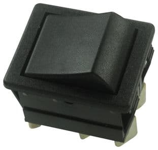 ARCOLECTRIC C1561ATAAA  Switch, Dpdt, 16A, 250Vac, Black